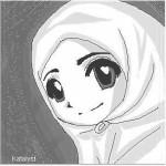 hijab putih