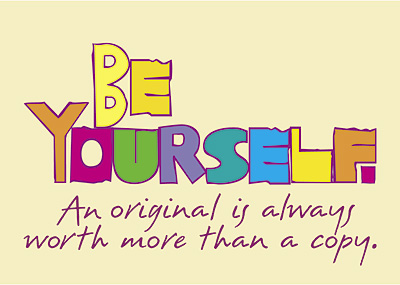 2. jadi diri sendiri