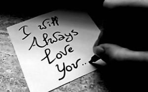 Tidak pernah membiarkan kamu lupa betapa dia mencintai kamu